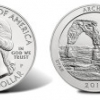 Arches Five Ounce Silver Coins Like Quarters
