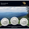 Shenandoah America the Beautiful Quarters Three-Coin Set