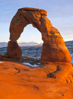 Delicate Arch in Arches National Park - NPS Photo