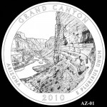 Grand Canyon National Park Quarter, Design Candidate AZ-01 - Click to Enlarge