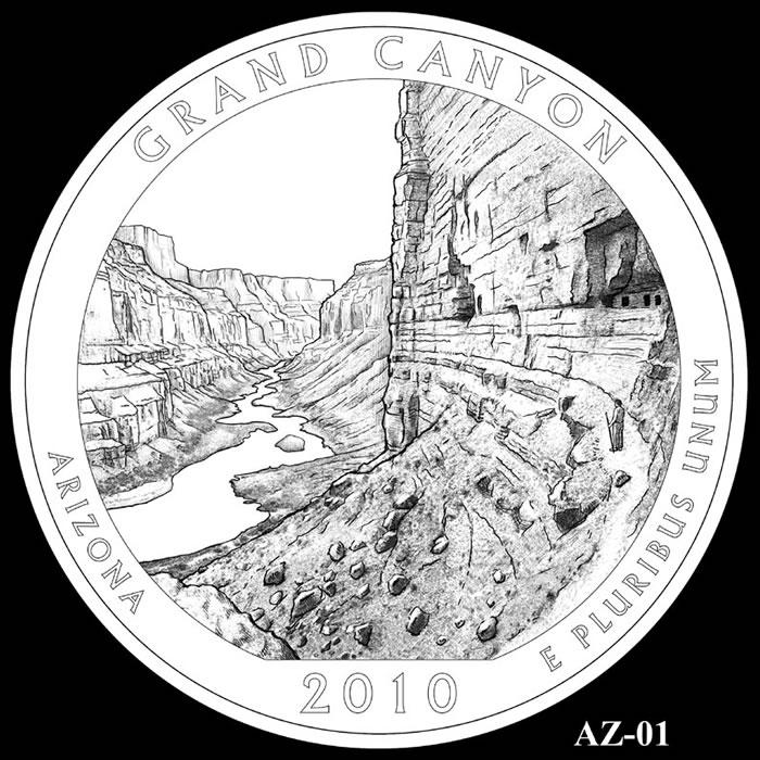 Grand Canyon National Park Quarter | Arizona | 2010 ...