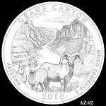 Grand Canyon National Park Quarter, Design Candidate AZ-02 - Click to Enlarge