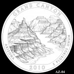 Grand Canyon National Park Quarter, Design Candidate AZ-04 - Click to Enlarge