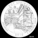 Hot Springs National Park Quarter, Design Candidate AR-01 - Click to Enlarge