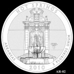 Hot Springs National Park Quarter, Design Candidate AR-02 - Click to Enlarge