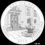 Hot Springs National Park Quarter, Design Candidate AR-03 - Click to Enlarge