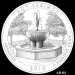 Hot Springs National Park Quarter, Design Candidate AR-04 - Click to Enlarge