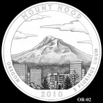 Mount Hood National Forest Site Quarter, Design Candidate OR-02 - Click to Enlarge