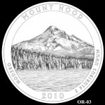 Mount Hood National Forest Site Quarter, Design Candidate OR-03 - Click to Enlarge