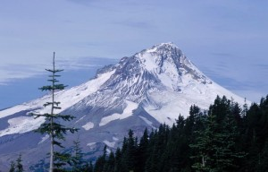 Peak at Mt. Hood National Forest in Oregon (NPS Photo) - Click to Enlarge