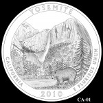 Yosemite National Park Quarter, Design Candidate CA-01 - Click to Enlarge