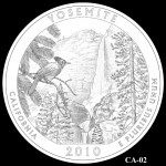 Yosemite National Park Quarter, Design Candidate CA-02 - Click to Enlarge