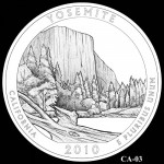 Yosemite National Park Quarter, Design Candidate CA-03 - Click to Enlarge