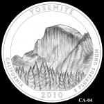 Yosemite National Park Quarter, Design Candidate CA-04 - Click to Enlarge