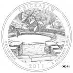 Chickasaw National Recreation Area Quarter Design OK-01