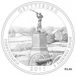 Gettysburg National Military Park Quarter Design PA-01