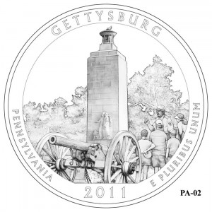Gettysburg National Military Park Quarter Design PA-02