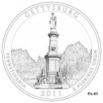Gettysburg National Military Park Quarter Design PA-03