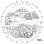 Glacier National Park Quarter Design MT-01