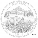 Glacier National Park Quarter Design MT-02