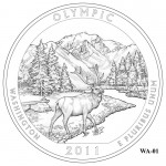 Olympic National Park Quarter Design WA-01