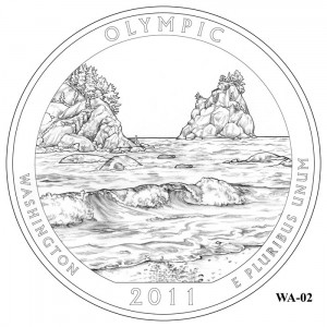 Olympic National Park Quarter Design WA-02