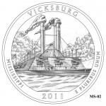 Vicksburg National Military Park Quarter Design MS-02