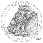 Vicksburg National Military Park Quarter Design MS-03