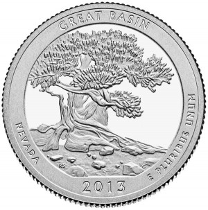 2013 Great Basin National Park Quarter