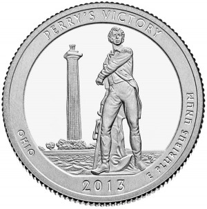 2013 Perry's Victory and International Peace Memorial Quarter