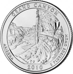 2010 Grand Canyon National Park Quarter