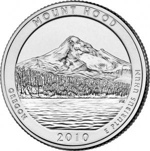 2010 Mount Hood National Forest Quarter