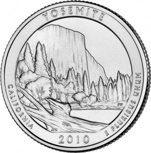 2010 Yosemite National Park Quarter