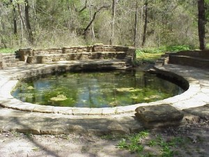 Buffalo Spring in Chickasaw National Recreation Area in Oklahoma (NPS Photo)