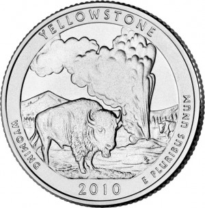 Yellowstone National Park Quarter
