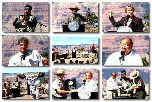 Grand Canyon National Park Quarter Ceremony
