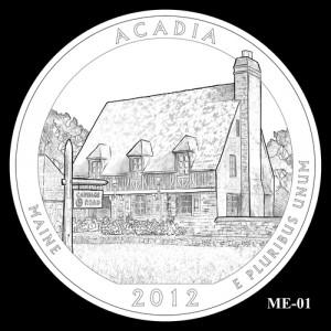 2012 Acadia Quarter Design Candidate ME-01