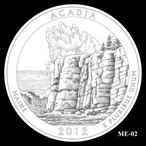 2012 Acadia Quarter Design Candidate ME-02