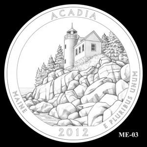 2012 Acadia Quarter Design Candidate ME-03
