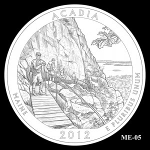 2012 Acadia Quarter Design Candidate ME-05
