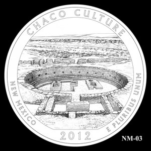 2012 Chaco Culture Quarter Design Candidate NM-03