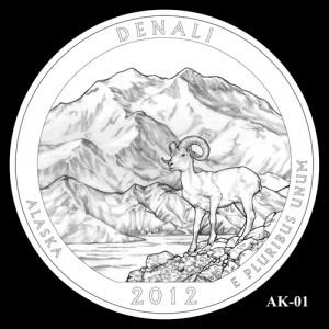 2012 Denali Quarter Design Candidate AK-01