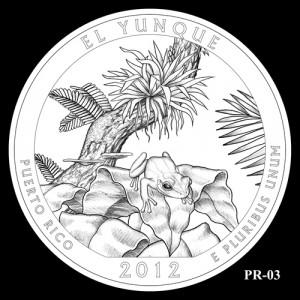2012 El Yunque Quarter Design Candidate PR-03