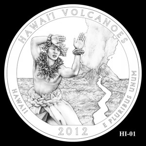 2012 Hawaii Volcanoes Quarter Design Candidate HI-01