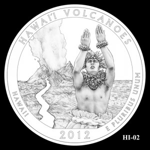 2012 Hawaii Volcanoes Quarter Design Candidate HI-02