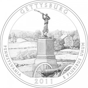 Gettysburg National Military Park Quarter Design
