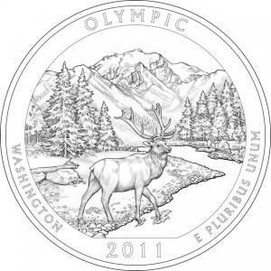 Olympic National Park Quarter Design