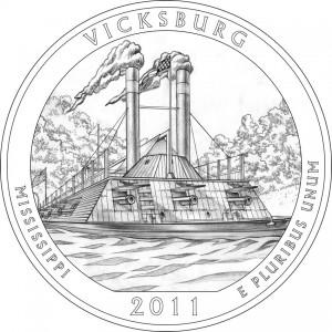 Vicksburg National Military Park Quarter Design