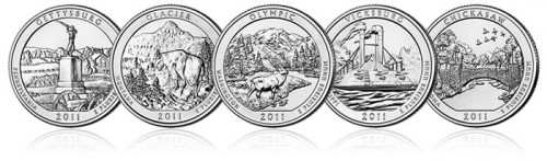 2011 America the Beautiful Quarters
