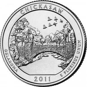 2011 Chickasaw National Recreation Area Quarter